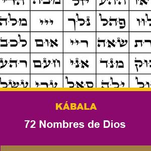 CURSO KABALA 72 Nombres de Dios